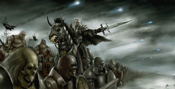 Arthas And The Undead Warcraft
