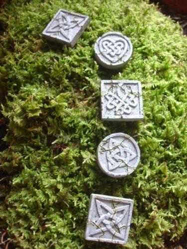 Fiddlehead Fairy Garden Collection Fairy Stepping Stones