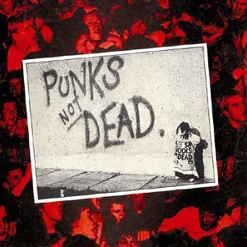 The Exploited Punk S Not Dead 2lp Ltd Red White Vinyl Punks Not Dead Punk Punk Rock
