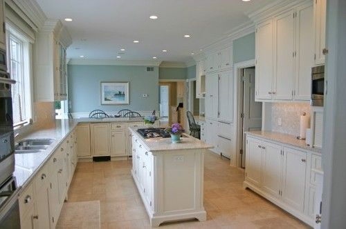 Elegant Coastal Kitchen traditional kitchen | Kitchen ideas ...