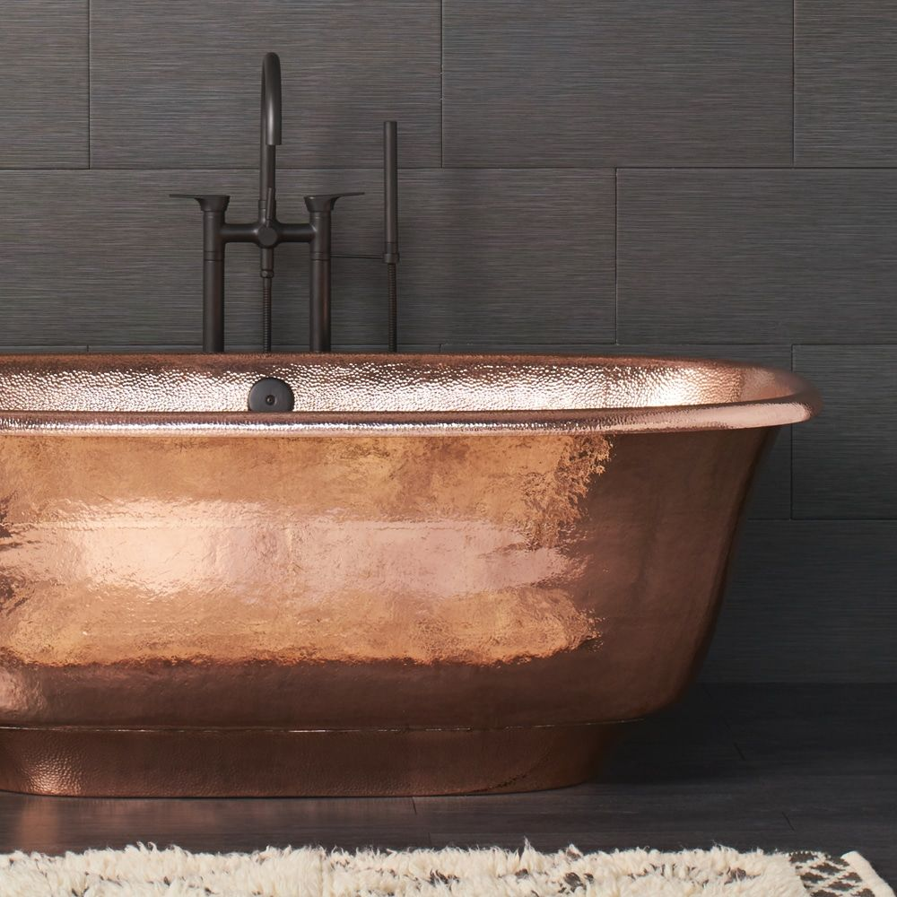Luxurious Freestanding Copper Bathtubs   Native Trails in ...