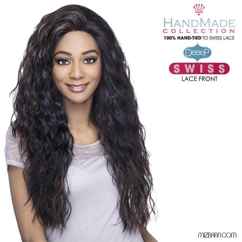 Beauty Show Flat: Vivica A. Fox Deeep Swiss Full Lace Front Wig BROOKLYN