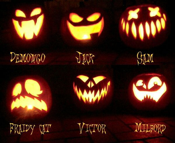 Pin by Nerissa Fairbotham on Jack-O-Lantern Faces | Pinterest ...