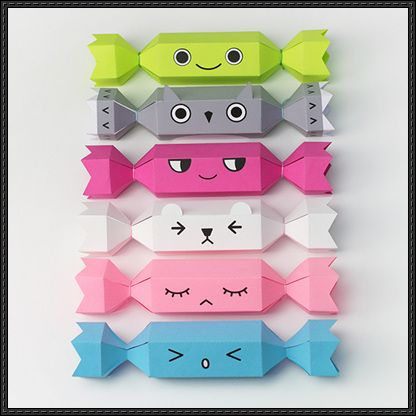 Papercraft for Kids - Meet the Crackers Free Templates Download - http://www.papercraftsquare.com/papercraft-kids-meet-crackers-free-templates-download.html