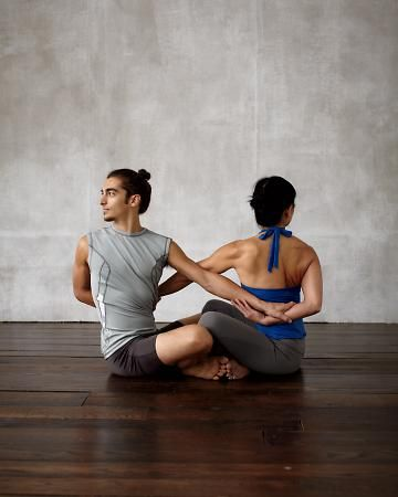 partner yoga workout made a deal with rocky yoga/pilates