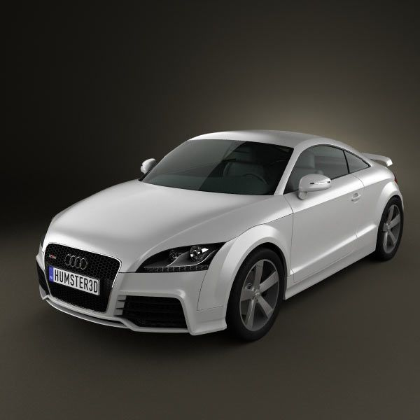 Audi TT RS 3d Model From Humster3d.com. Price: $75