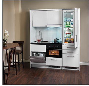 Kompakt Kitchen From Euro Line Appliances Six Appliances In A Six