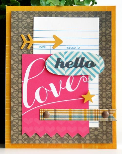 Hello Love by. @Emily Pitts created with the January 2013 #CocoaDaisyKits  Pemberley