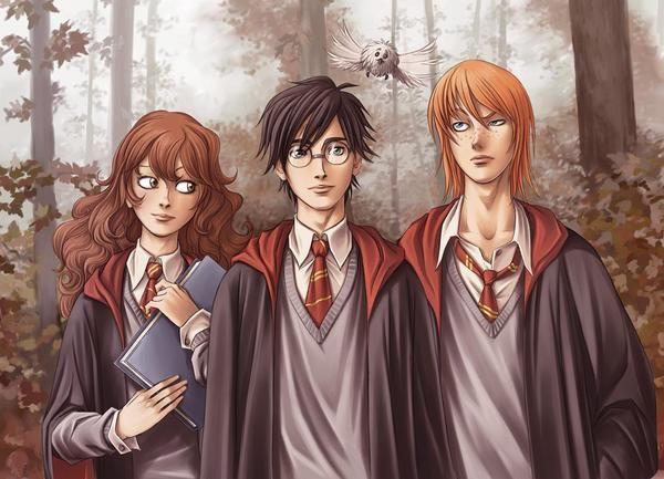 Harry Potter Fan Art Of Harry Potter Series Harry Potter Fan Art Harry Potter Characters Harry Potter Anime