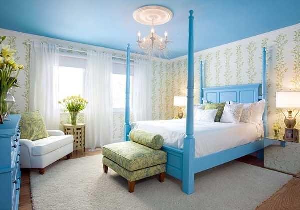 light blue bedroom colors 22 calming bedroom decorating ideas - Blue Bedroom Colors