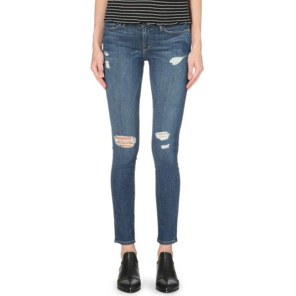 De 325 Frame Jeans Le Skinny Jeanne Mid Rise Zw7H4q8w