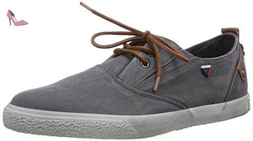 s.Oliver 13602, Sneakers Basses Homme, Marron (Pepper), 45 EU