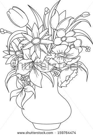 Flower vase vector Free vector for free download about (24 ... on books vector, basket vector, art vector, box vector, decor vector, candle vector, animals vector, roses vector, floral vector, pottery vector, mirror vector, beer mug vector, teapot vector,