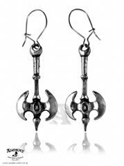Double Axe Miniatures Alchemy Gothic (Metal-Wear) Pair of Earrings