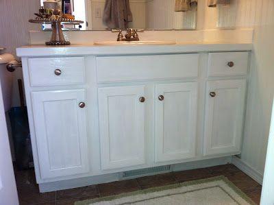 Building The Space Between Guest Bathroom Vanity Reveal Painted Vanity Bathroom White Vanity Bathroom Bathroom Vanity