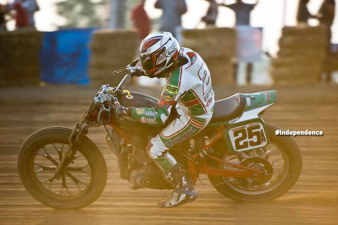 Shayna Texter And The Latus Motors Castrol Triumph Team Are Hot Off Their First Ama Pro Flat Track Gnc Semi Final Win At Lima Ohio Triumph Semi Final Teams