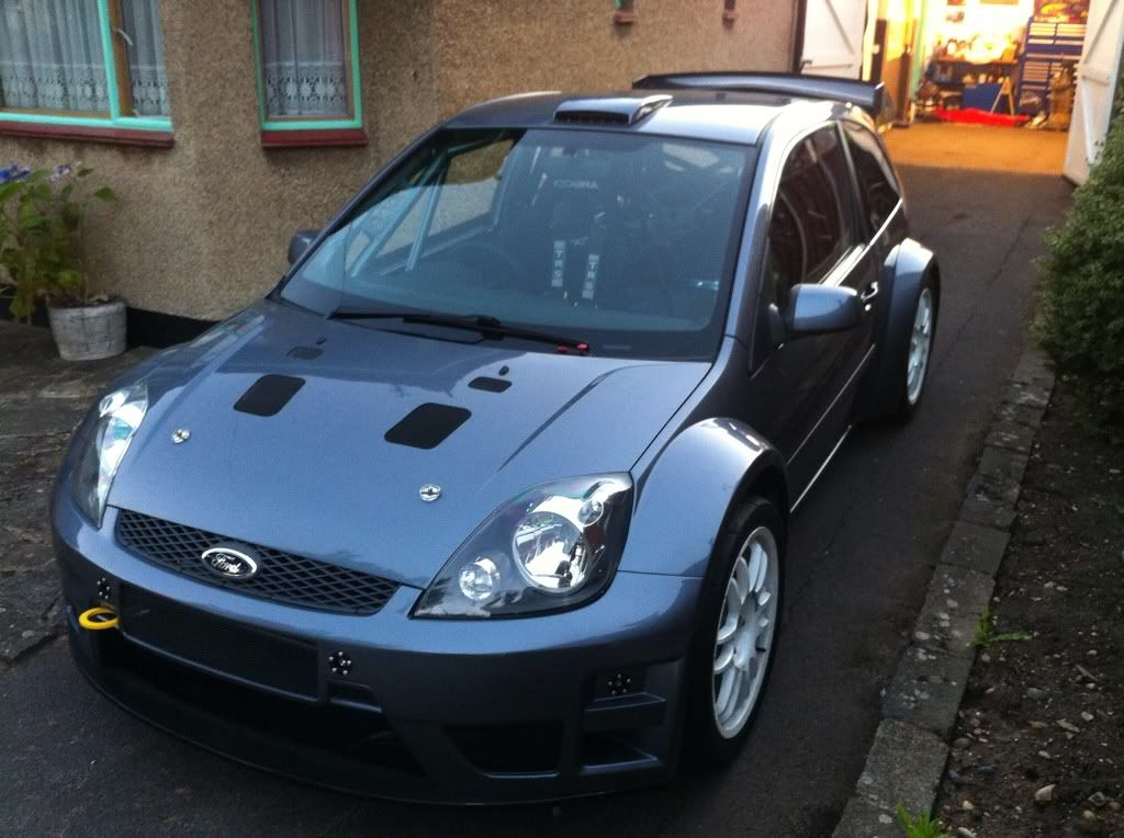 Cosworth Powered Awd Widebody Fiesta Mk6 With Images Ford