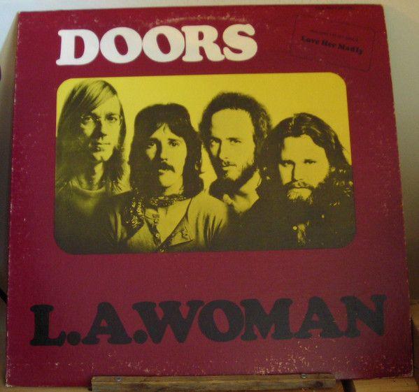 The Doors L A Woman Vinyl Lp Album At Discogs 1971 Riders On The Storm Vinyl Vinyl Records