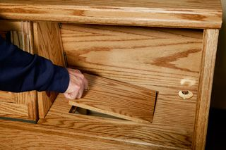 Hidden Compartments In The Mid Wall Pier Bed Headboard