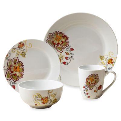 Tabletops Unlimited® Avalon Round Porcelain 16-Piece Set - BedBathandBeyond.com