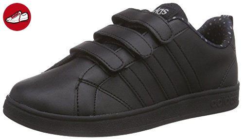 sports shoes 7666e 325f0 adidas NEO Advantage VS, Unisex-Kinder Sneakers, Schwarz (CblackCblack