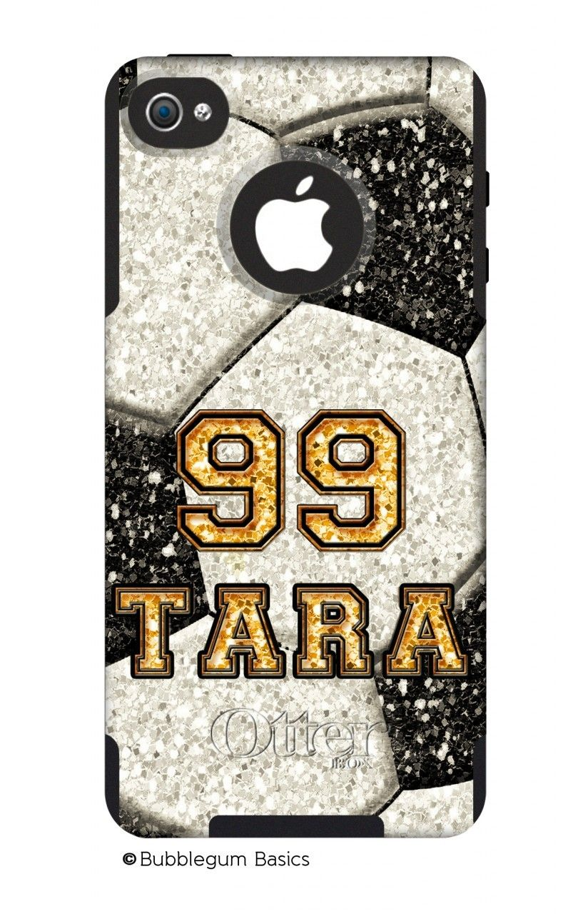soccer glitter custom  otterbox u00ae commuter series u00ae phone case  available for the iphone 5