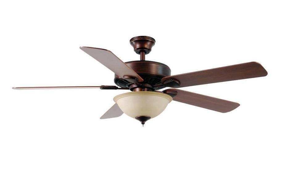 Harbor Breeze Springfield Ii In Bronze Ceiling Fan With Light
