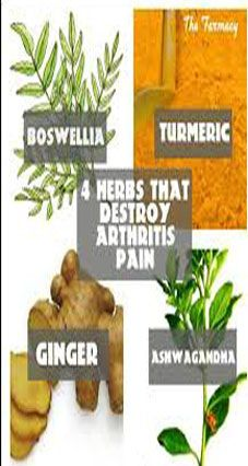 Boswellia: Is a resin extracted from a tree found in India. It was found to reduce swelling and joint pain.