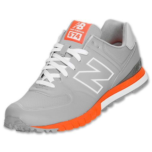 newest collection 43fc1 1fca9 Mens New Balance 574 Revlite | Grey/Orange | Sneakerhead in ...