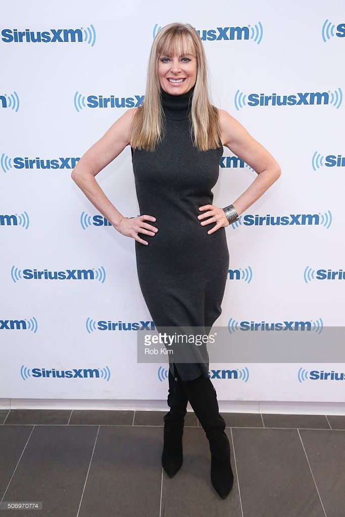 Eileen Davidson visits at SiriusXM Studios on January 26, 2016 in New York City.