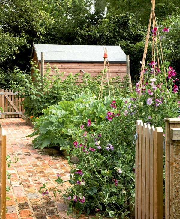 Potager Garden Design Ideas: Cottage Restoration