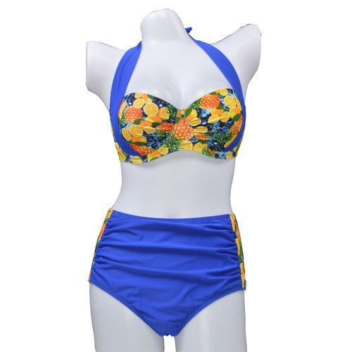 54f9850a1d5b7 Item Type: Bikinis Set Pattern Type: Floral,Print Waist: High Waist Gender:  Women Material: Acrylic,Terylene Support Type: Underwire With Pad: Yes  Model ...