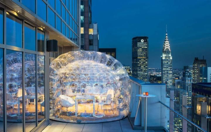 New York's highest rooftop hotel bar - where you can drink ...