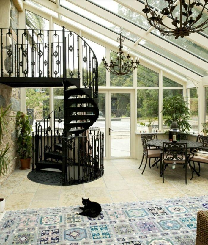 ▷ 1001 + Ideas de originales escaleras de caracol con mucho estilo