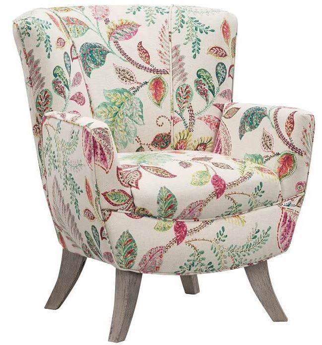 Elegant Reading Corner With Floral Armchair And Artwork Living Room Design Diy Living Room Pictures Living Room Diy