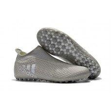 buy online d4010 dacb8 Adidas X Tango 17 Purespeed TF Soccer Shoes White Grey Adidas Soccer Shoes,  Soccer Training