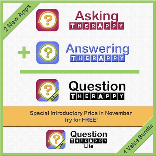 Question TherAppy is 2 apps in 1! New apps for aphasia