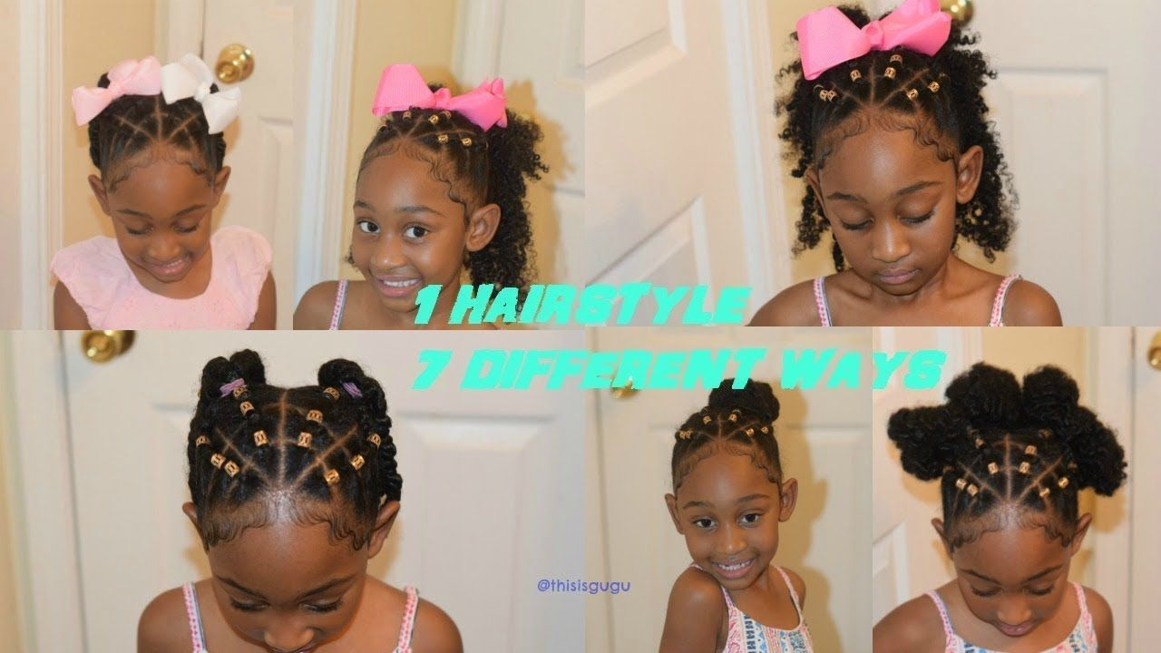 Easy kidsgirls natural hairstyles hairstyles in back to school