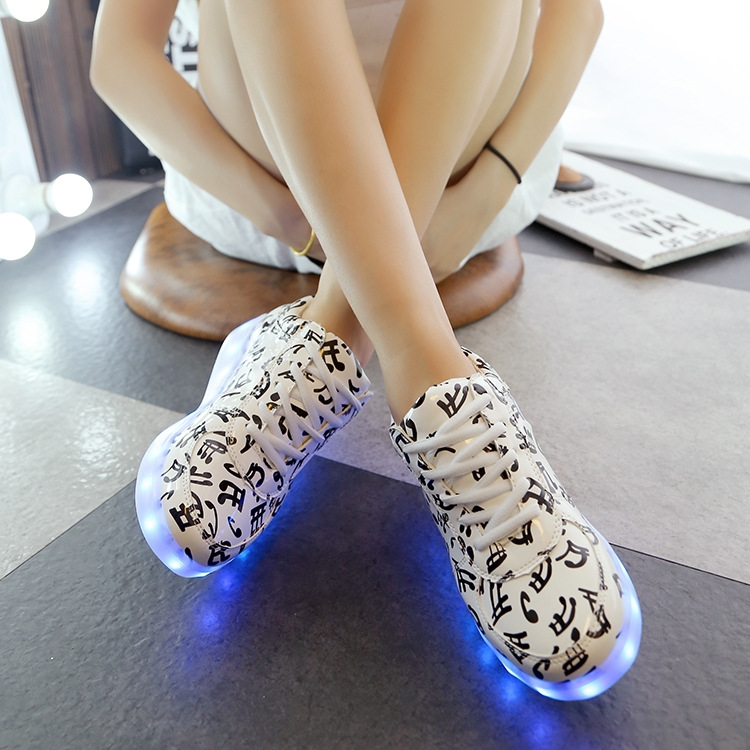 32 04 Watch Here 3 28 Sale Price 44 Plus Size Women S Led Sneake 2016 Flat Usb Lighted Up Luminous Canvas Shoes Sapato Femenin Shoe Laces Led Shoes Shoes
