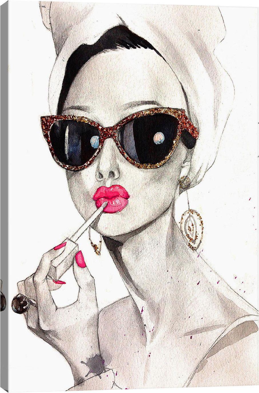 Audrey Hepburn Canvas Print   Joss & Main