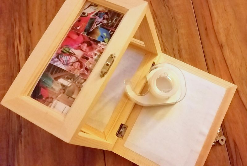 DIY Photo Memory Box #RegaloDeAmorPampers