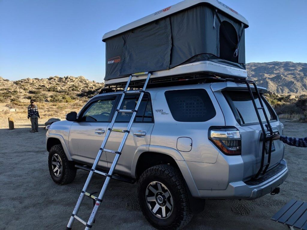 Roof Nest Sparrow Roof Top Tent Install Review On 5th Gen 4runner Roof Top Tent 4runner Tent
