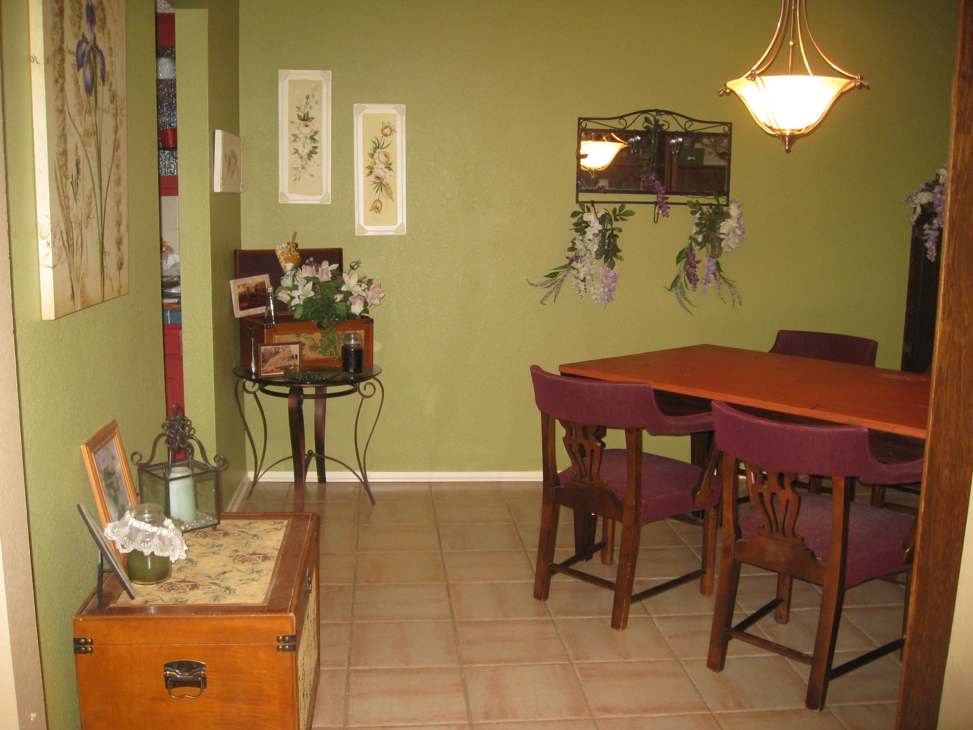 my dining room the walls were painted in homestead resort moss