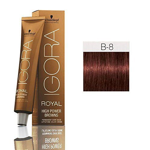 Schwarzkopf Professional Igora Royal High Power Browns B8 Brown Red Read More Reviews Of The Schwarzkopf Professional Schwarzkopf Schwarzkopf Hair Color