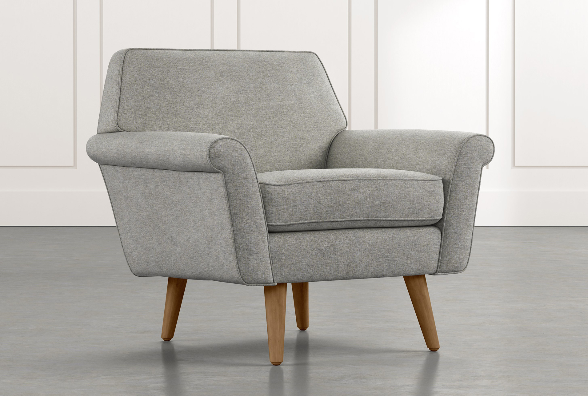 Patterson Iii Light Grey Accent Chair In 2019 Products Grey
