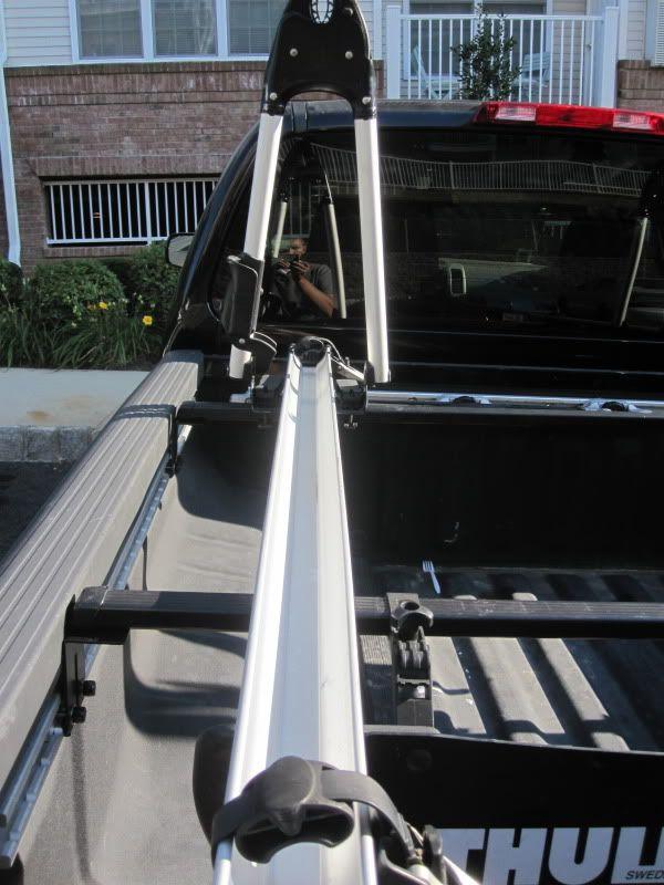 Custom Thule Rack Using Utili Track