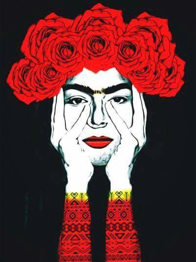 Frida Kahlo Frida W 2019 Rysunki Obrazy I Sztuka