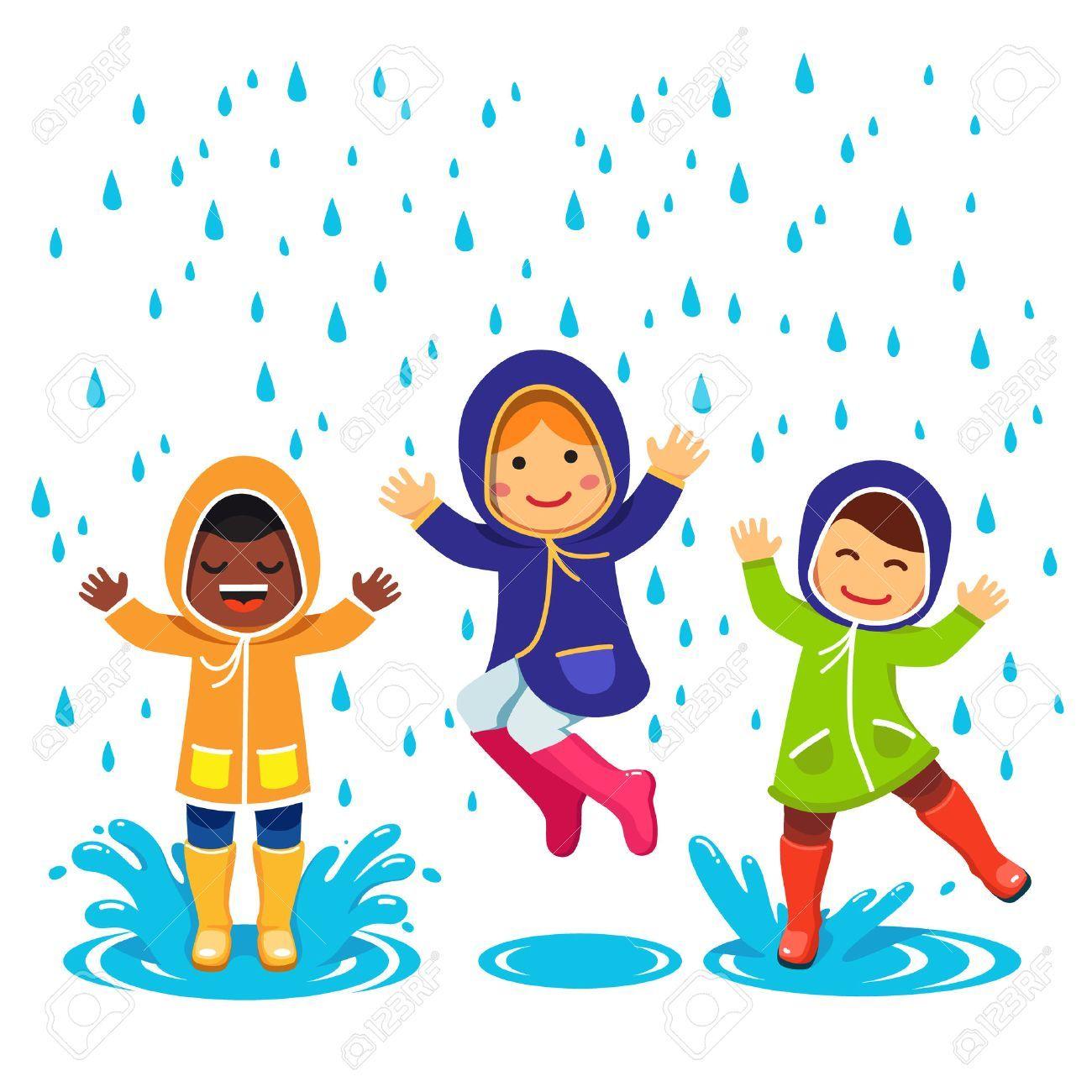 Pin By Harinala On A P R I L 2018 Cartoon Illustration Rainy Day