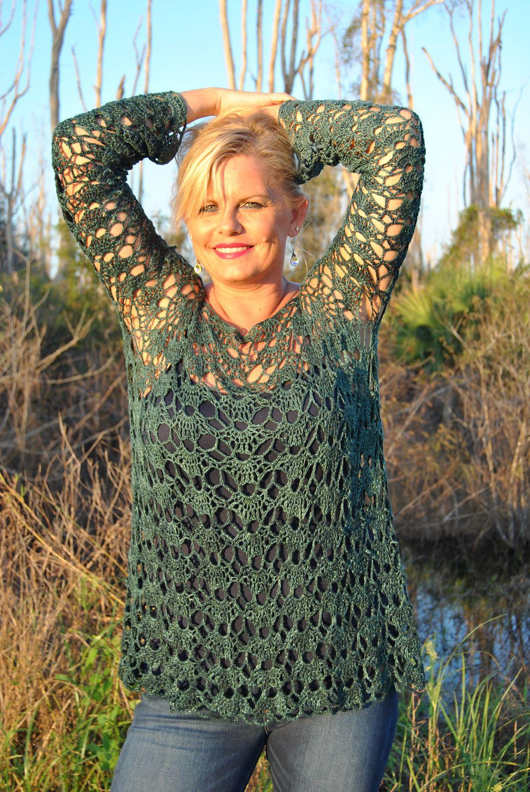 Sweet clara 20 long sleeve pullover by kristin omdahl free sweet clara 20 long sleeve pullover by kristin omdahl free crochet pattern ravelry bankloansurffo Gallery
