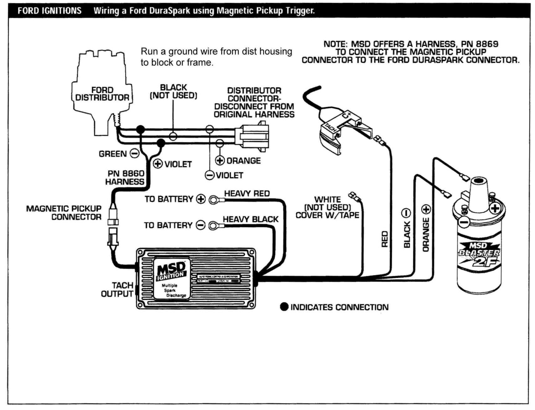 Basic Hot Rod Engine Hei Wiring Diagram And Automotive Component Engineering Ford Wire Diagram